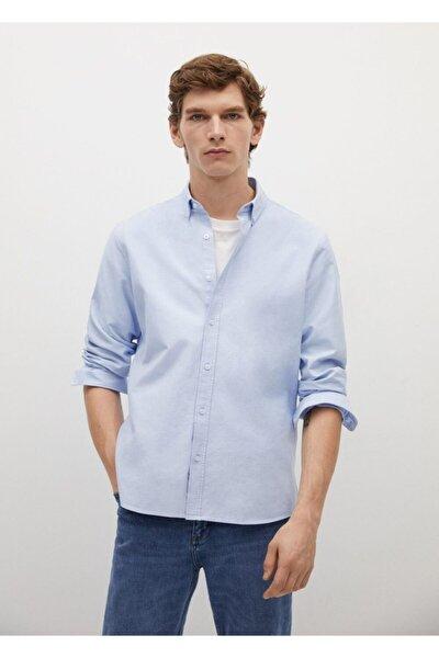 Regular Kesim Oxford Pamuklu Gömlek