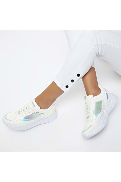 Kadın Günlük Spor Ayakkabısı - Beyaz - Btmz000335-beyaz-36