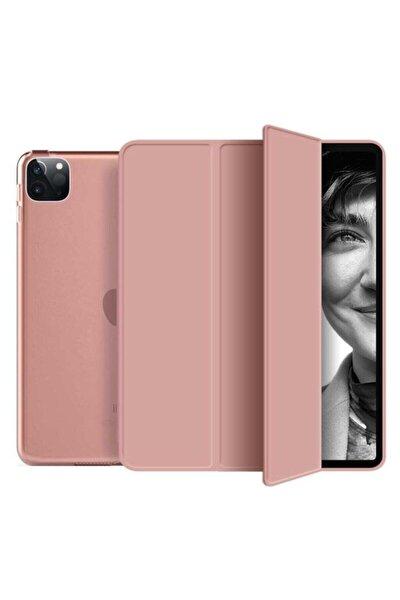 Rose Gold Ipad Pro 11 2.Nesil 2020 Pu Deri Smart Case Kılıf  A2228 A2068 A2230 A2231