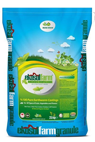 Farm %100 Solucan Gübresi 25 Kg Organik Gübre