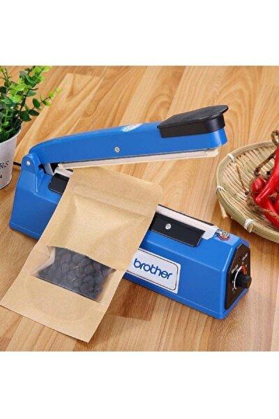 30 cm Plastik Gövde Poşet Ağzı Kapama Yapıştırma Makinesi