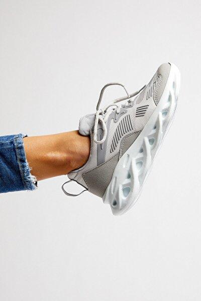 Unısex Spor Ayakkabı Gri Tb283