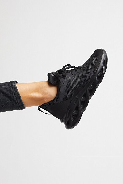 Unısex Spor Ayakkabı Siyah Tb283