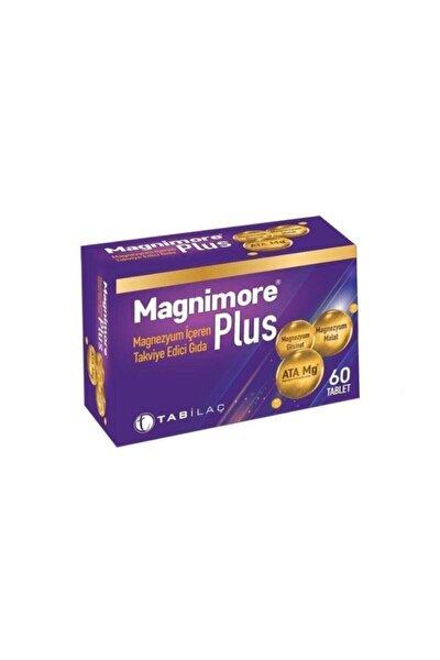 Magnimore Plus 60 Magnezyum Içeren Takviye Edici Gıda