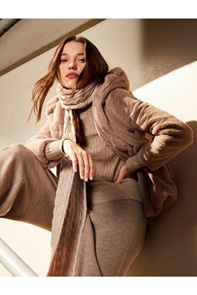 Kadın Kahverengi Coats Kaban