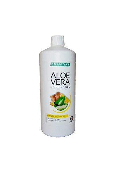 Aloe Vera Jel Içecek Zencefil Ve Limon