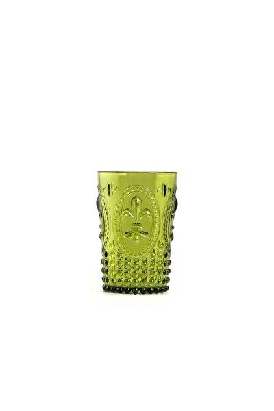 Yeşil Akrilik Kısa Bardak