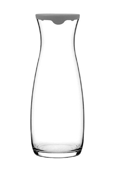 Gri Kapaklı Amphora Karaf Sürahi Meşrubat İkramlık Karaf 1 lt 43813g