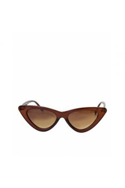 Kadın Kahverengi Çerçeveli Cat Eye  Güneş Gözlüğü