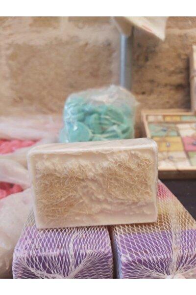 El Yapımı Doğal Kabak Lifli Eşek Sütü Sabunu