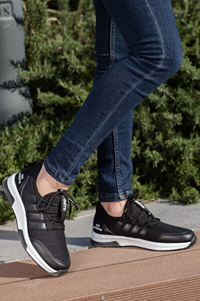 Unisex Siyah Sneaker Ayakkabı Mgforce01
