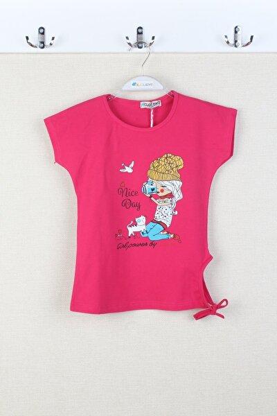 Kız Çocuk Fujya Tişört