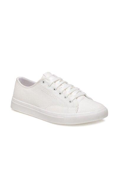 NELL 1FX Beyaz Kadın Havuz Taban Sneaker 100911317