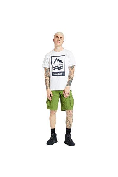 SS MTR PRINT CREW REG Beyaz Erkek T-Shirt 101096791