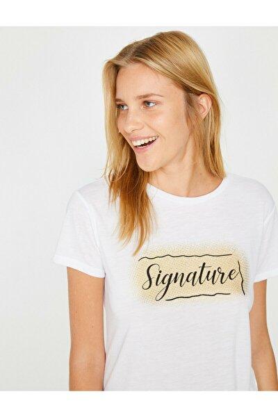 Kadın Beyaz T-Shirt