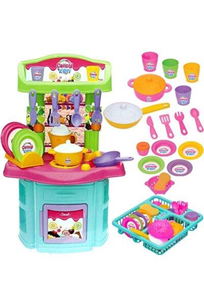 Kız Çocuk Bulaşıklık Büyük Boy Mutfak Seti
