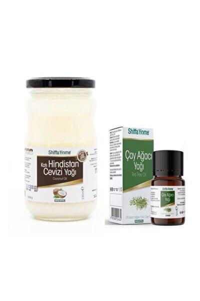 Katı Hindistan Cevizi Yağı 330 ml Çay Ağacı Yağı 5 ml