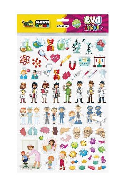 Meslekler Eva Sticker Çıkartma Nc-690 20x30 Cm