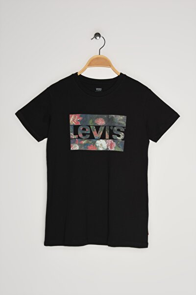 Kadın The Perfect Tee Lse_Sportswear Logo Fıl T-Shirt 17369-1514