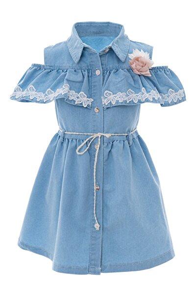 Kız Çocuk Kot Elbise
