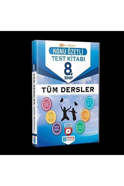 Evrensel Iletişim Yayınları 8.sınıf Tüm Dersler Konu Özetli Video Çözümlü Test Kitabı