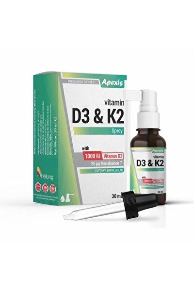 Vitamin D3 & K2 Oral Sprey Takviye Edici Gıda 30 Ml