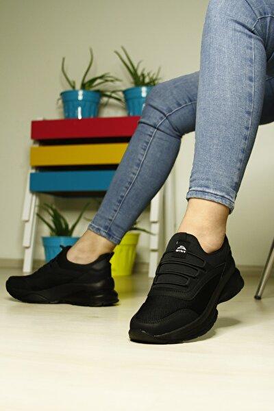 Kadın Siyah Spor Yürüyüş Ayakkabı