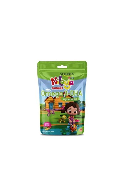 Kids Niloya Gummies Omega 3-dha 60 Adet