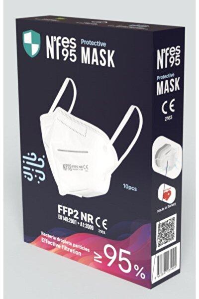Nefes N95 Maske 1 Kutu 10 Adet