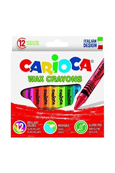 Wax Crayons Yıkanabilir Pastel Boya Kalemi 12'li
