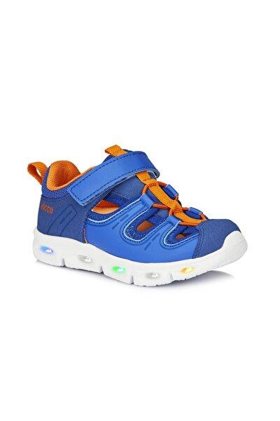 Yuki Erkek Çocuk Saks Mavi Spor Ayakkabı