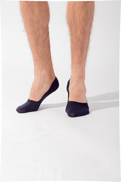 Erkek Lacivert Basic Görünmez Çorap