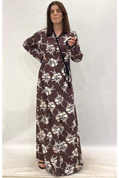 Namaz Elbisesi Penye Pamuk Iç Ve Diştan Bağlamalı 2061 .