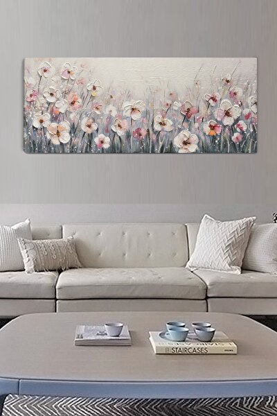 Daisies Garden Kanvas Tablo