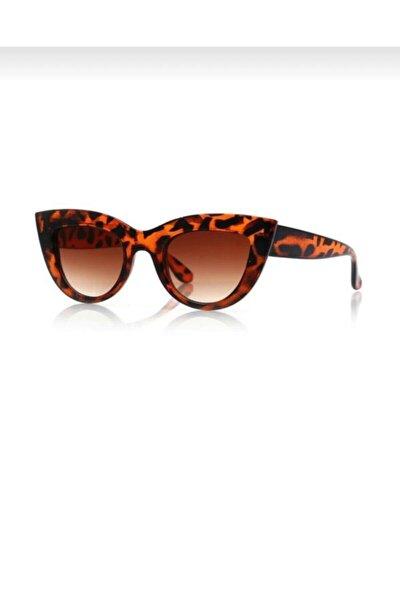 Ckboutique Kadın Leopar Güneş Gözlüğü