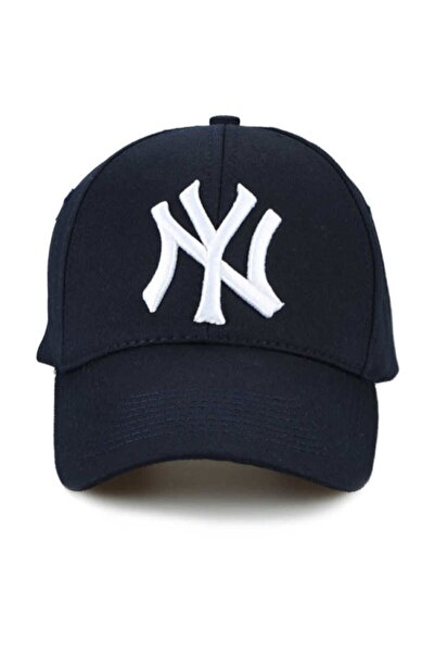 Ny New York Şapka Unisex Lacivert Şapka