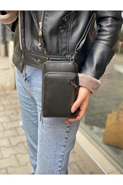 Kadın Siyah Çanta Cüzdan