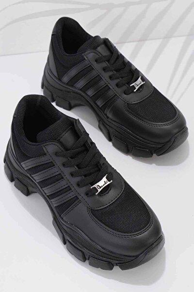 Siyah Kadın Sneaker K01836001509