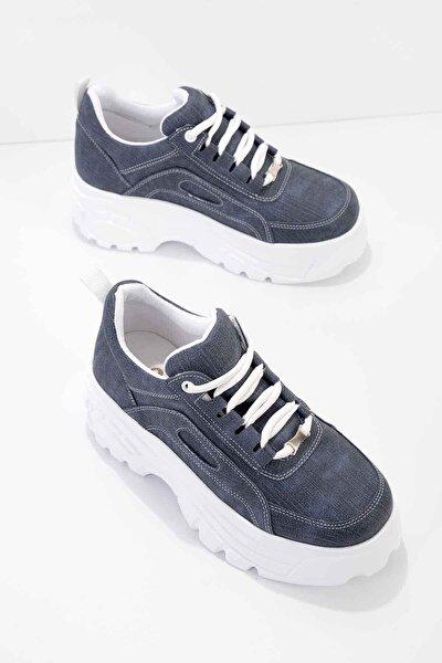 Lacivert Kadın Sneaker K01868302709