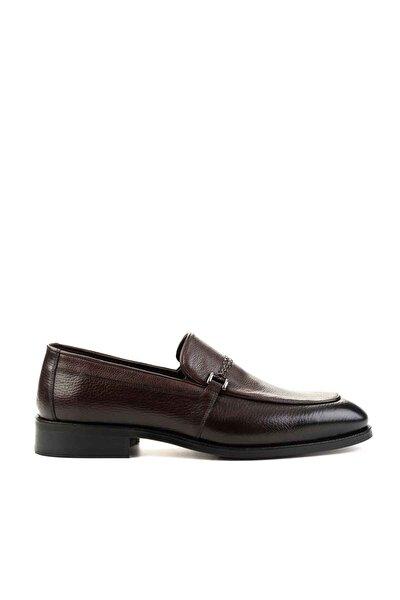 Hakiki Deri Kahve Erkek Klasik Ayakkabı E01630244245