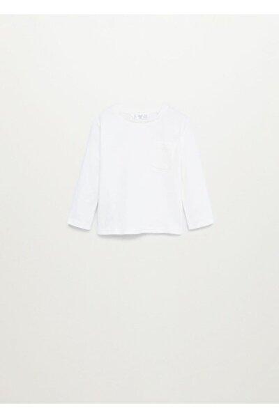 Erkek Bebek Uzun Kollu Pamuklu Tişört