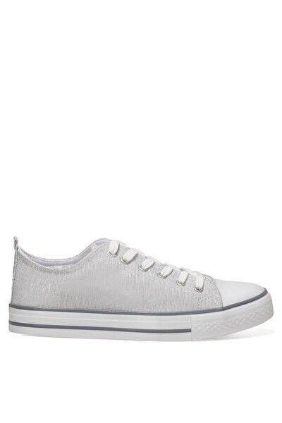 Confy 1fx Beyaz Kadın Havuz Taban Sneaker