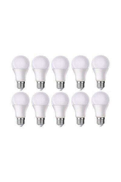 10 Watt Beyaz Renk Led Ampul 10 Lu Paket