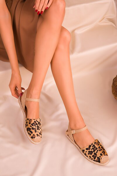 Leopar Kadın Sandalet 14790