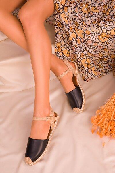 Siyah Kadın Sandalet 14790
