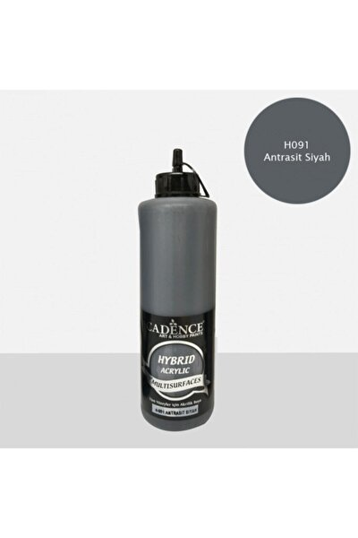 Hybrid Multisurface Akrilik Boya 500 Ml. H-091 Antrasit Siyah