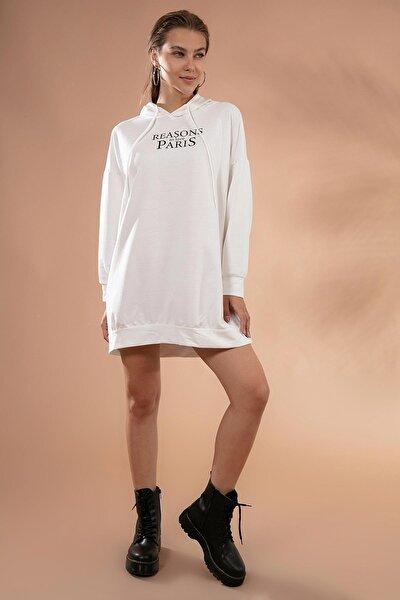 Kadın Oversize Sweatshirt Elbise Y20w110-51355