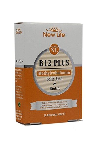 B12 Plus 60 Dilaltı Tablet - Vişne 7640128140139