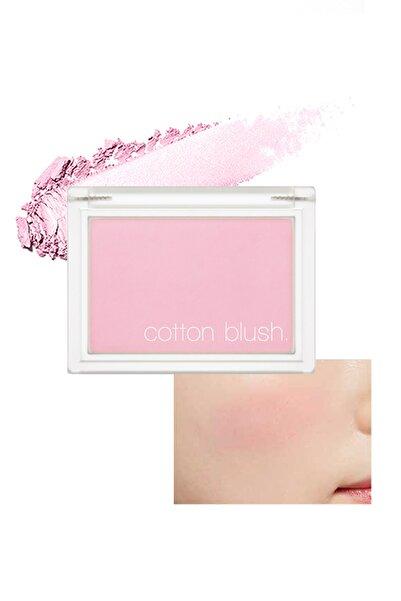 Yumuşak Dokulu Kolay Sürülebilen Allık Cotton Blusher (Lavender Perfume)