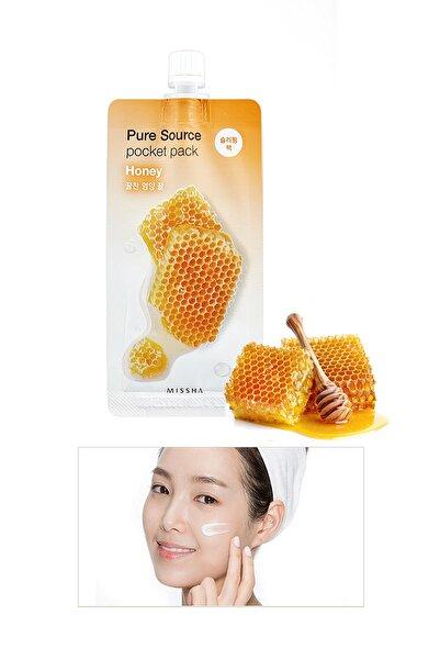 Besleyici ve Nemlendirici Bal Özlü Uyku Maskesi 10ml Pure Source Pocket Pack Honey